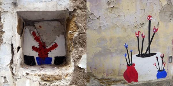 Les murs de Naples !